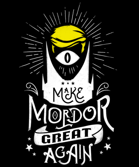 Qwertee: Make Mordor Great Again