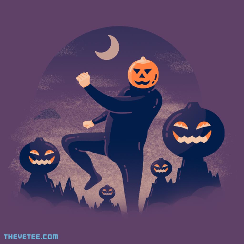 The Yetee: SPOOP - Pumpkin Hill