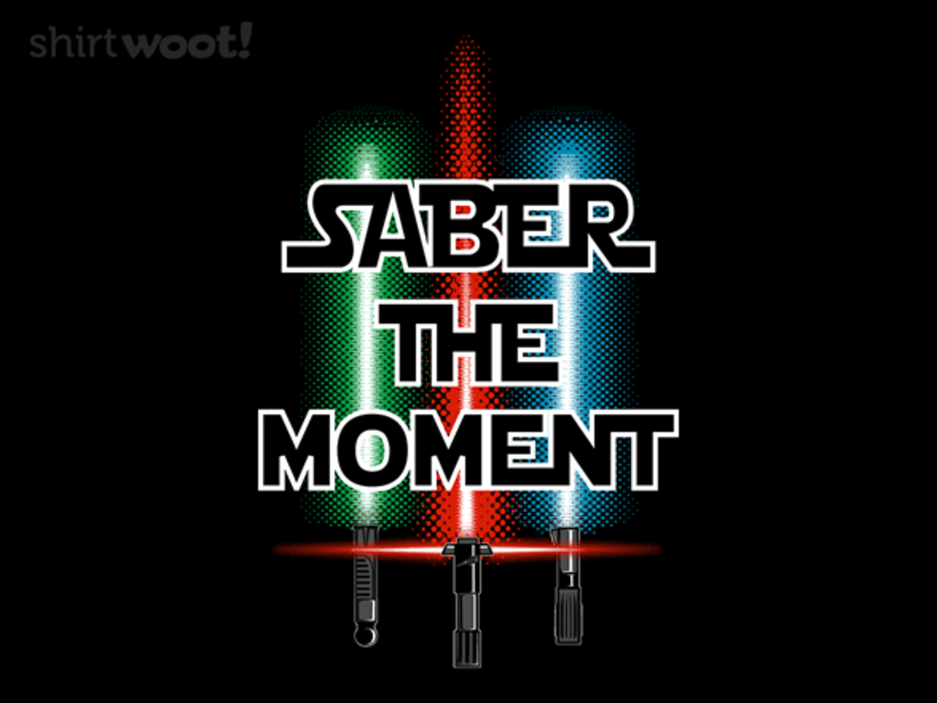 Woot!: Saber the Moment - $15.00 + Free shipping