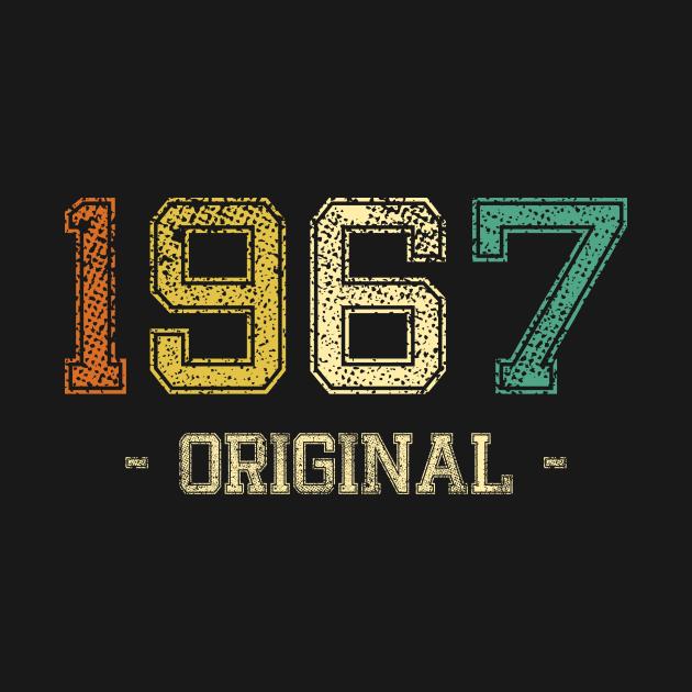 TeePublic: 1967 gift, vintage retro original 1967