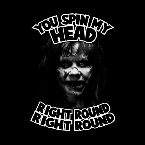 Five Finger Tees: You Spin My Head Right Round T-Shirt