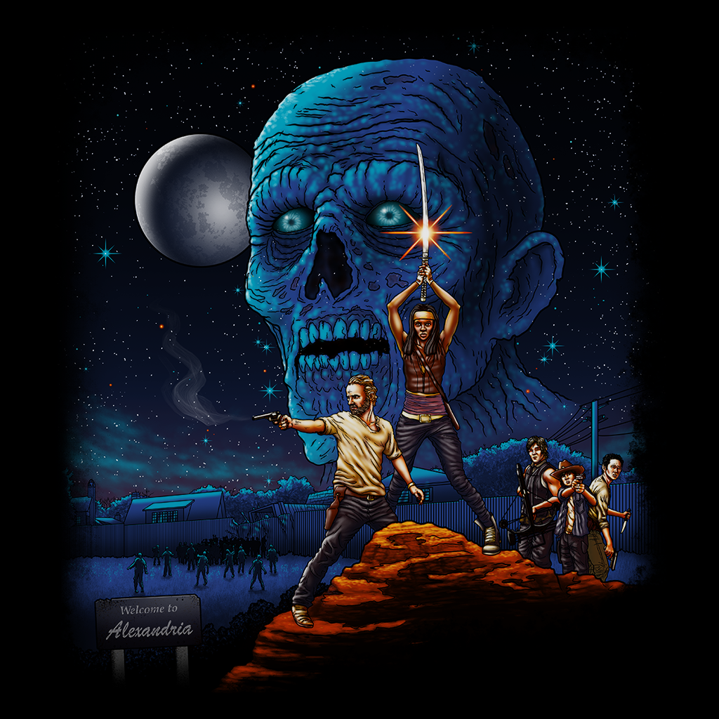 Pop-Up Tee: Dead Wars