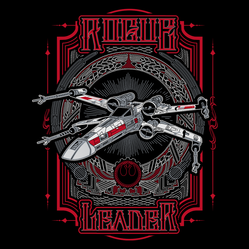 Pop-Up Tee: Rogue Leader