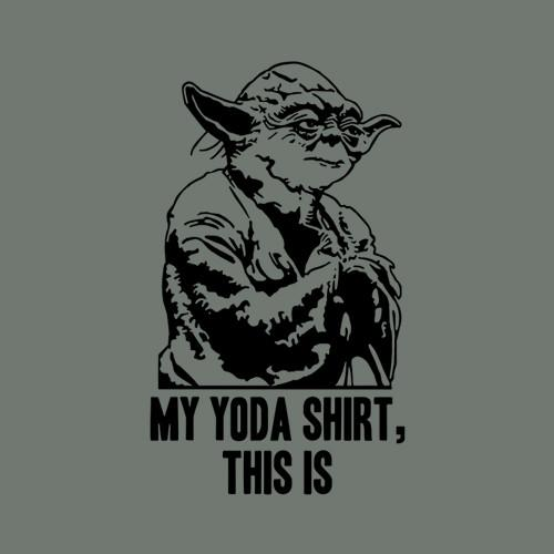 Five Finger Tees: My Yoda Shirt, This Is T-Shirt
