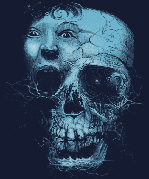 Qwertee: one eyed willy