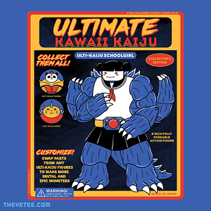 The Yetee: Ultimate Kaiju Schoogirl