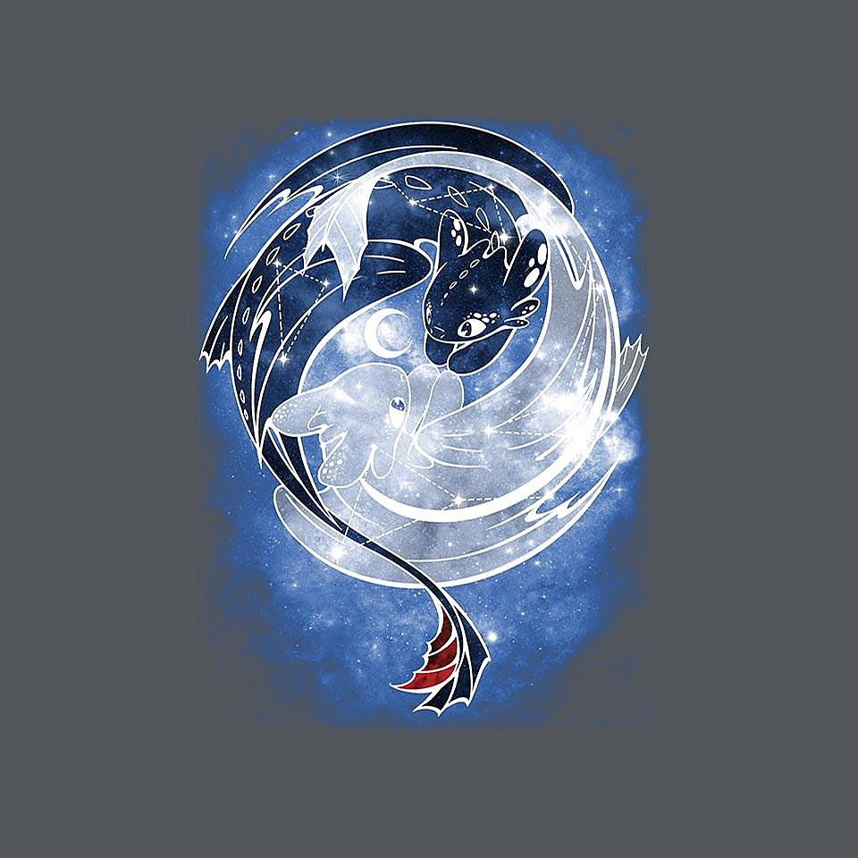 TeeFury: Last Starry Dragons