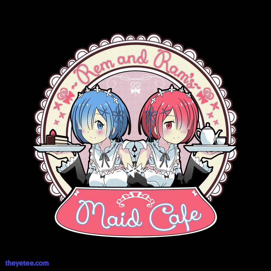 The Yetee: Maid Cafe