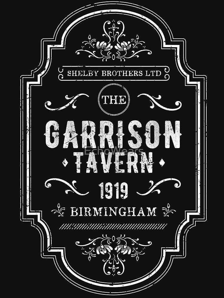 RedBubble: The Garrison - The Shelby Brother's Ltd