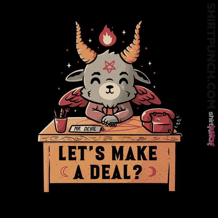 ShirtPunch: Let's Make A Deal