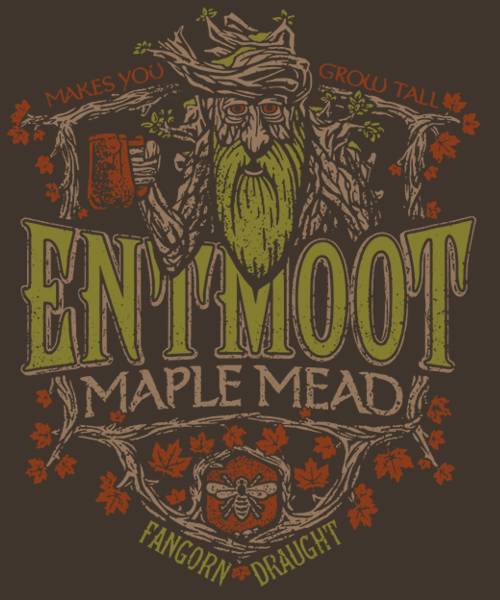 Qwertee: Entmoot Maple Mead