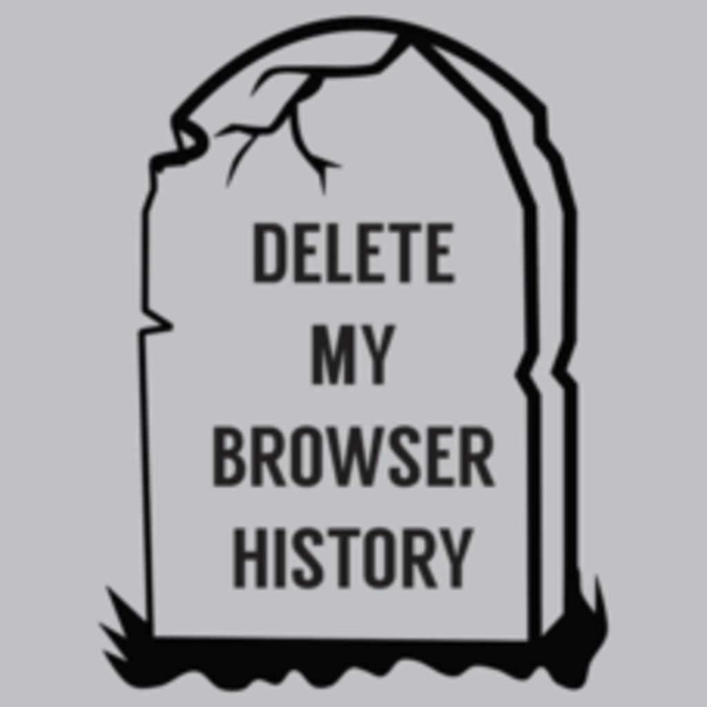 Textual Tees: Delete My Browser History