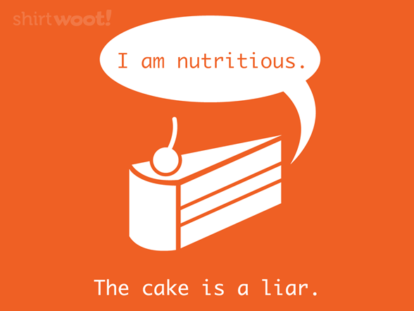 Woot!: The Cake is a Liar