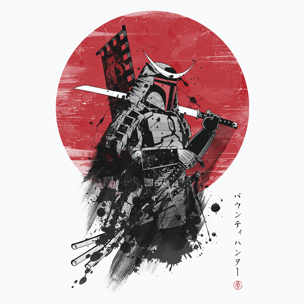 Pop-Up Tee: Mandalorian Samurai