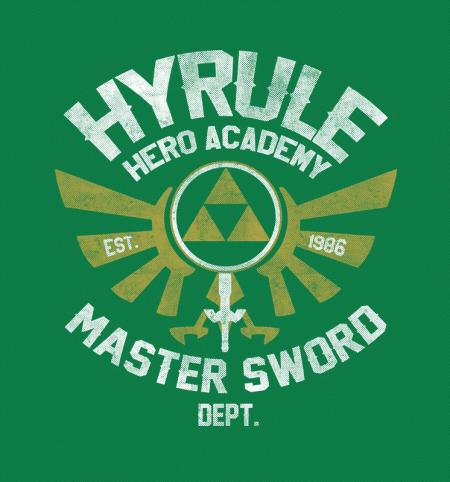 BustedTees: Hyrule Hero Academy