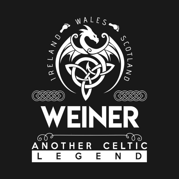 TeePublic: Weiner Name T Shirt - Another Celtic Legend Weiner Dragon Gift Item