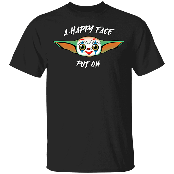 Pop-Up Tee: A Happy Face