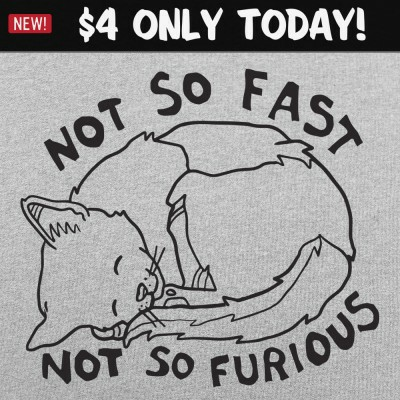 6 Dollar Shirts: Not So Fast & Furious
