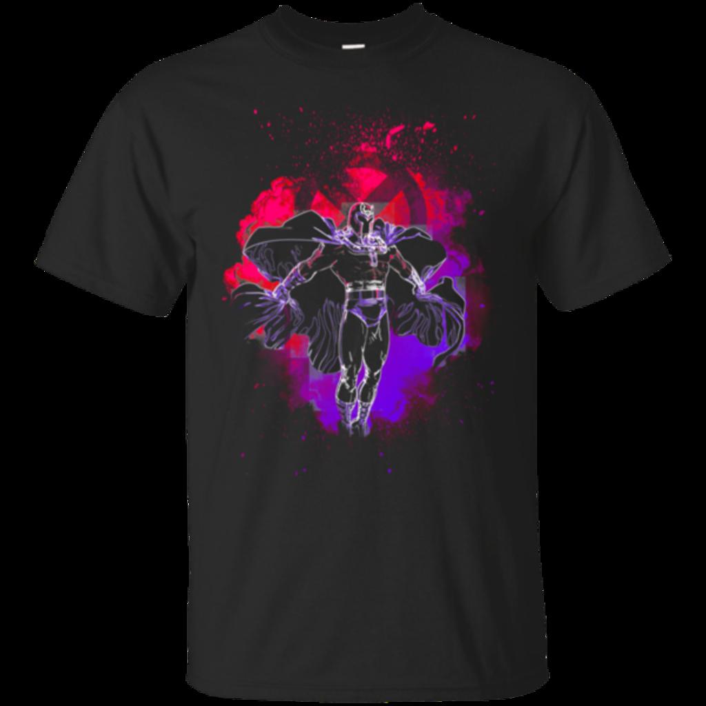 Pop-Up Tee: Magneto Soul