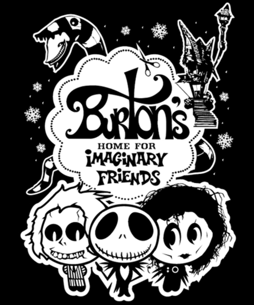Qwertee: Burton's Home for Imaginary Friends