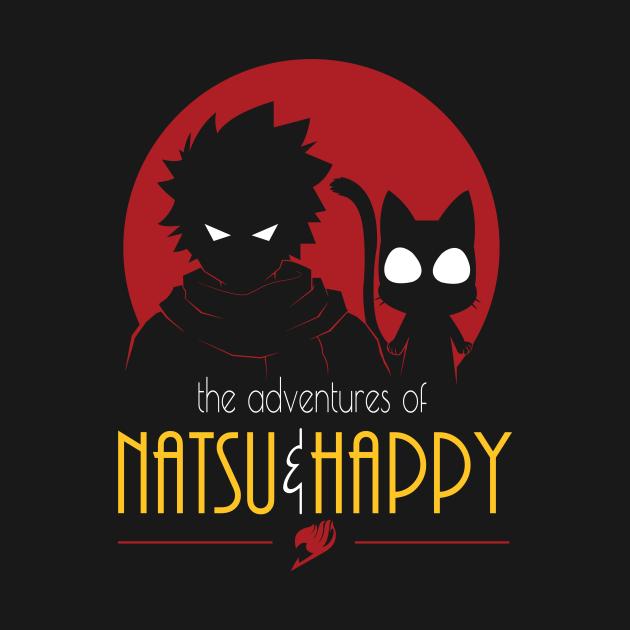 TeePublic: Adventures of Natsu & Happy