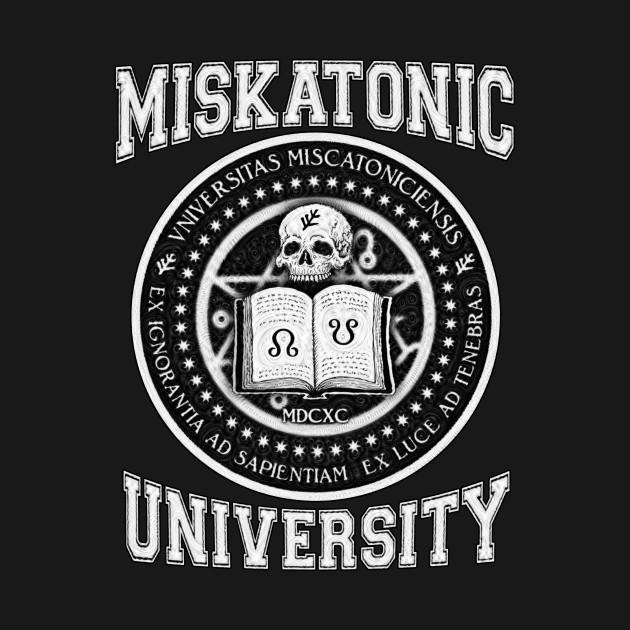 TeePublic: Miskatonic - Azhmodai 2019