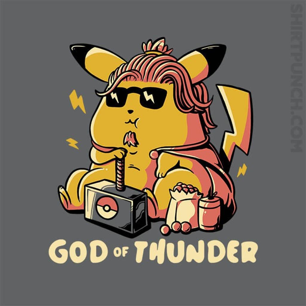 ShirtPunch: God Of Thunder