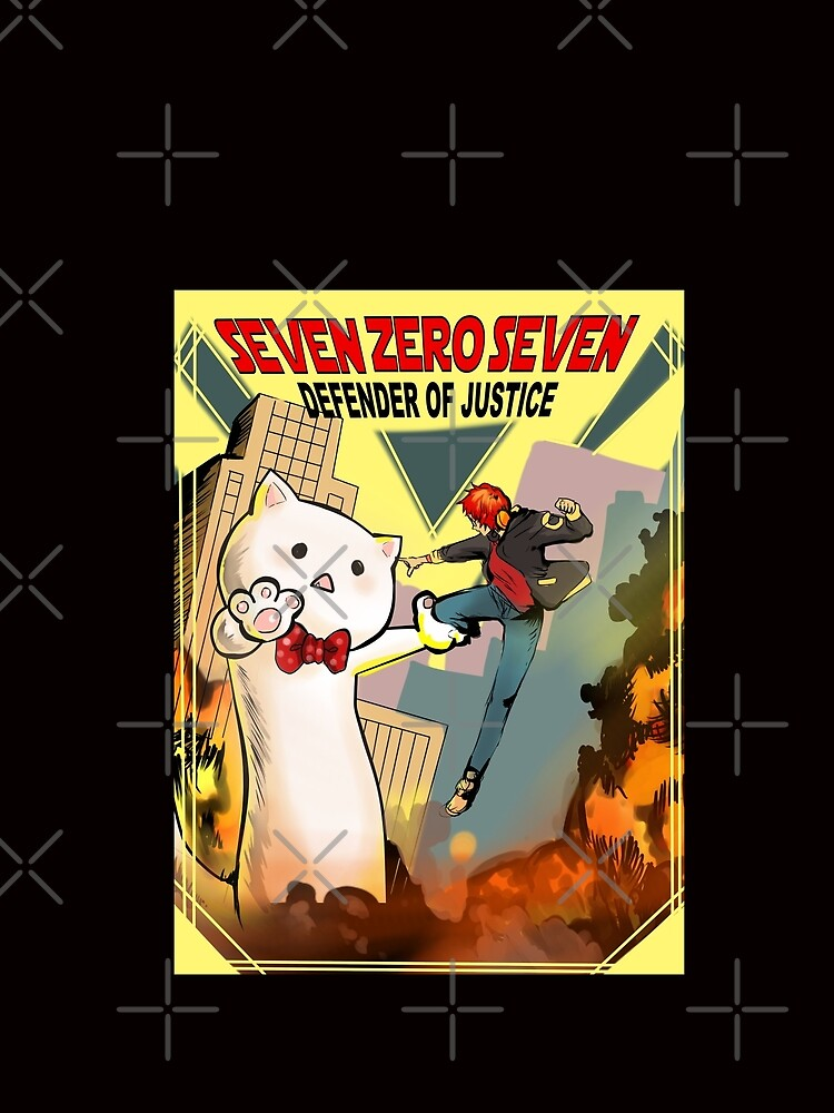 RedBubble: SEVEN ZERO SEVEN Mystic Messenger Collection