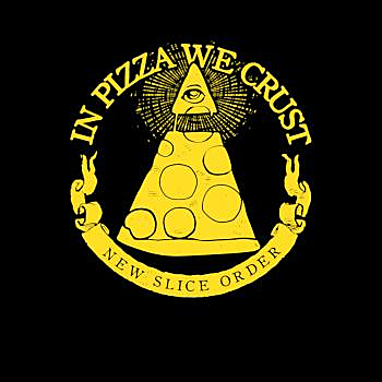 BustedTees: Illuminati in Pizza
