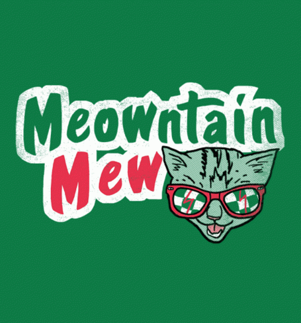 BustedTees: Meowntain Mew