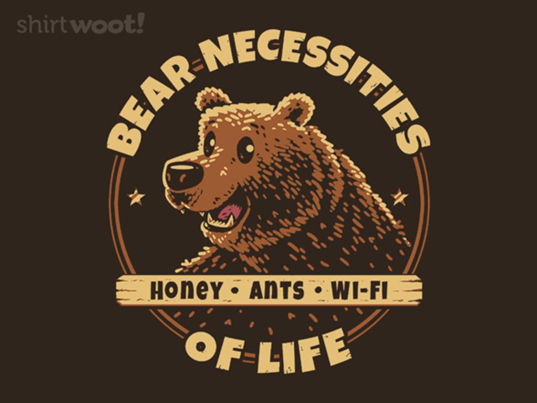 Woot!: Bear Necessities
