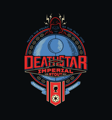 BustedTees: Death Star Imperial Stout