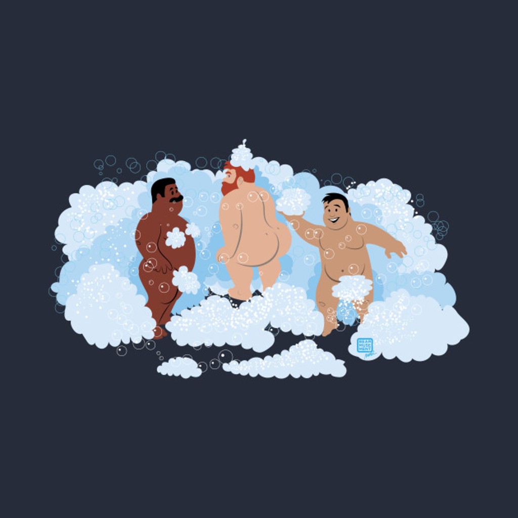 TeePublic: Bears in Foam