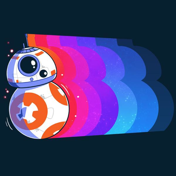 TeeTurtle: Psychedelic BB-8