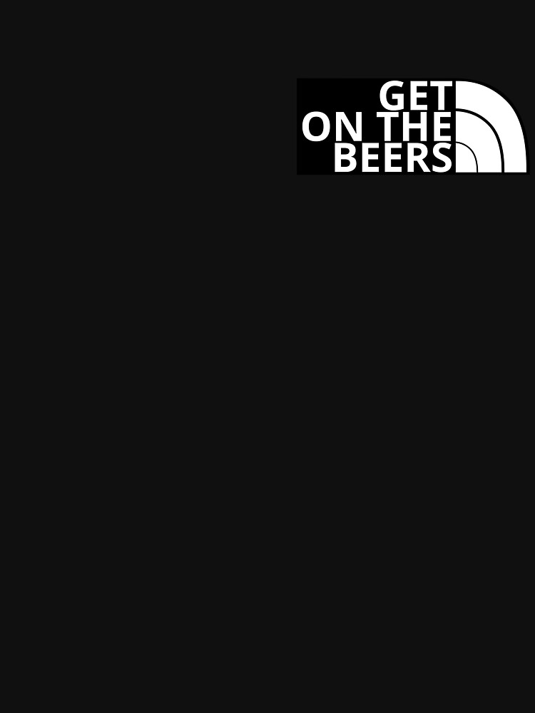 RedBubble: Get On The Beers (dark variant)