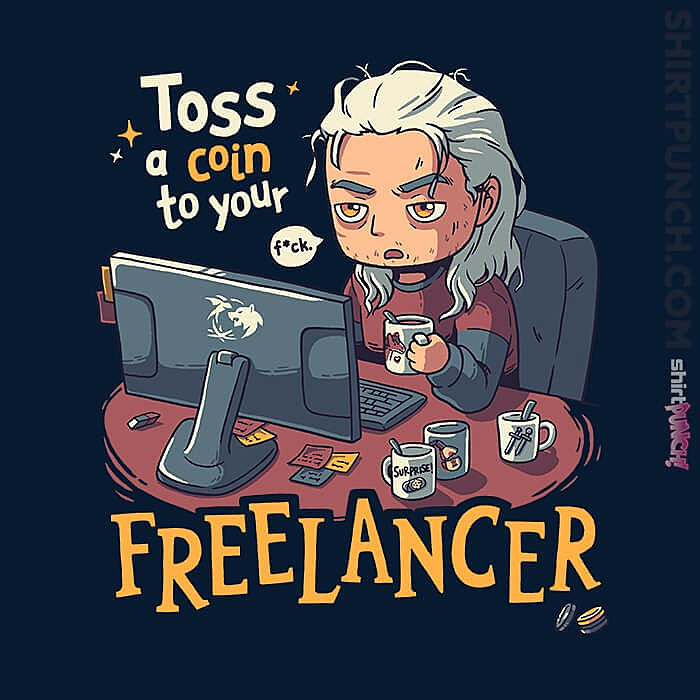 ShirtPunch: Freelancer Of Blaviken