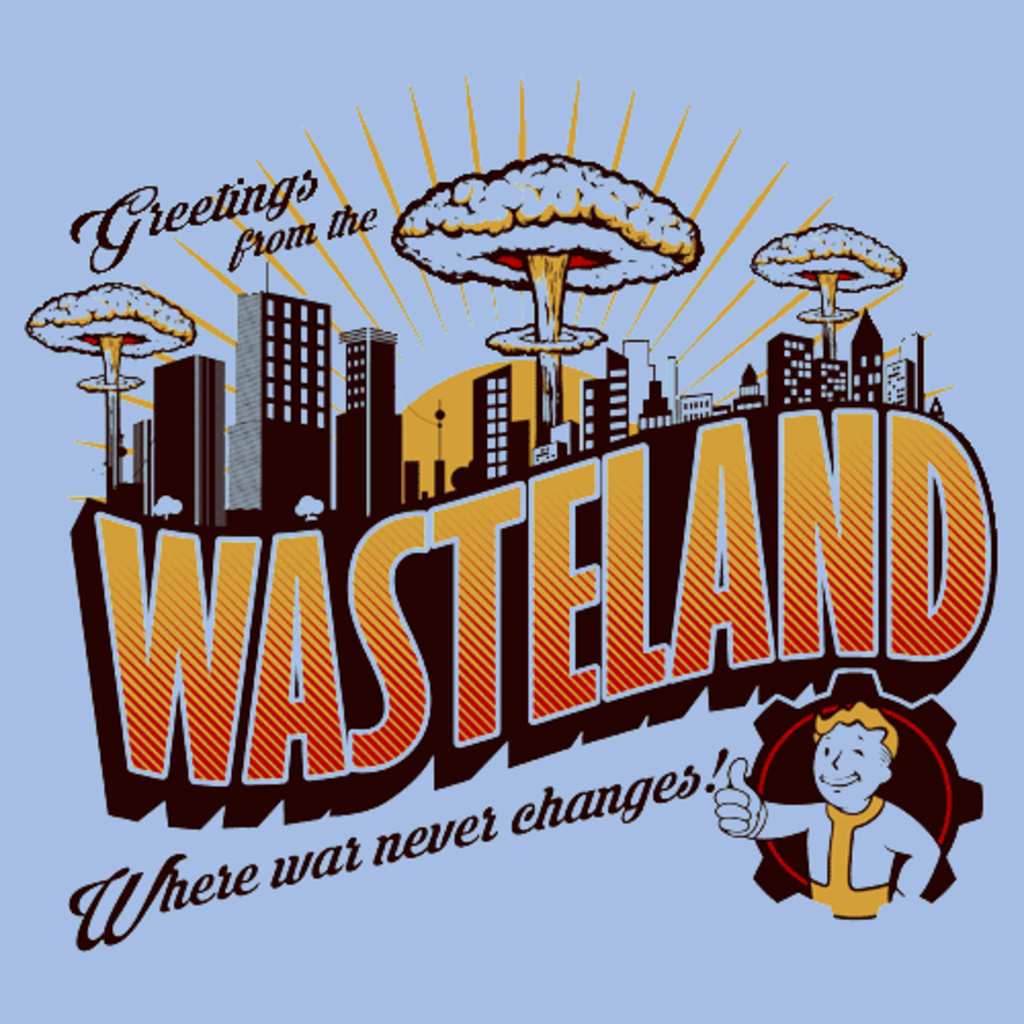 Textual Tees: Greetings from the Wasteland