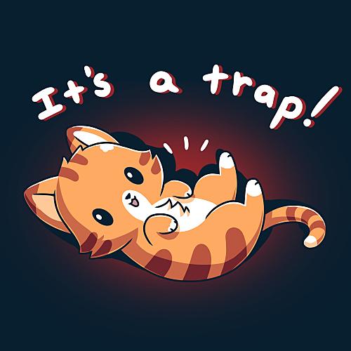 TeeTurtle: It's a Trap! (Cat)