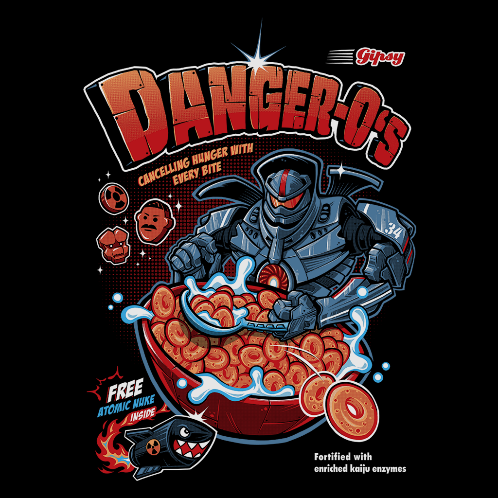 Pop-Up Tee: Danger O's