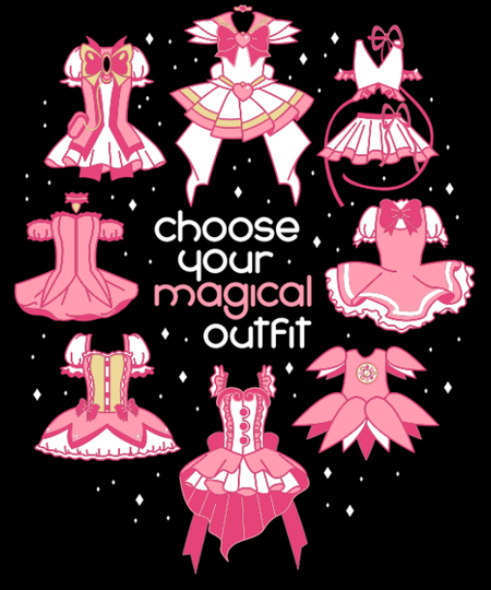 Qwertee: Choose your magical outfit