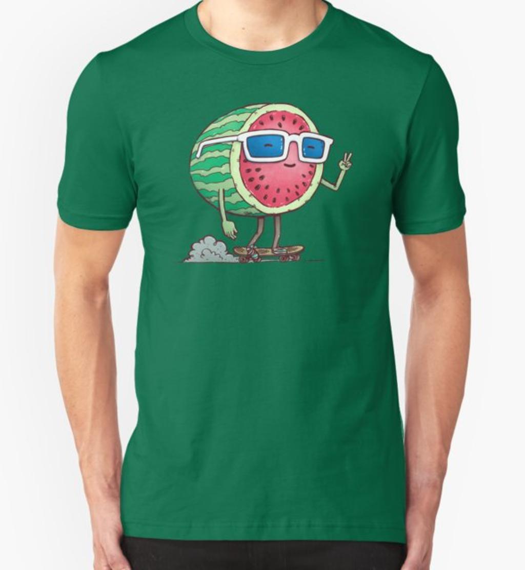 RedBubble: Watermelon Skater