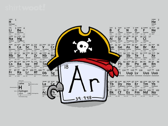 Woot!: Periodic Pirate