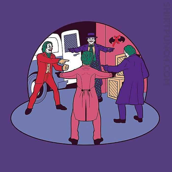 ShirtPunch: Poker Of Jokers