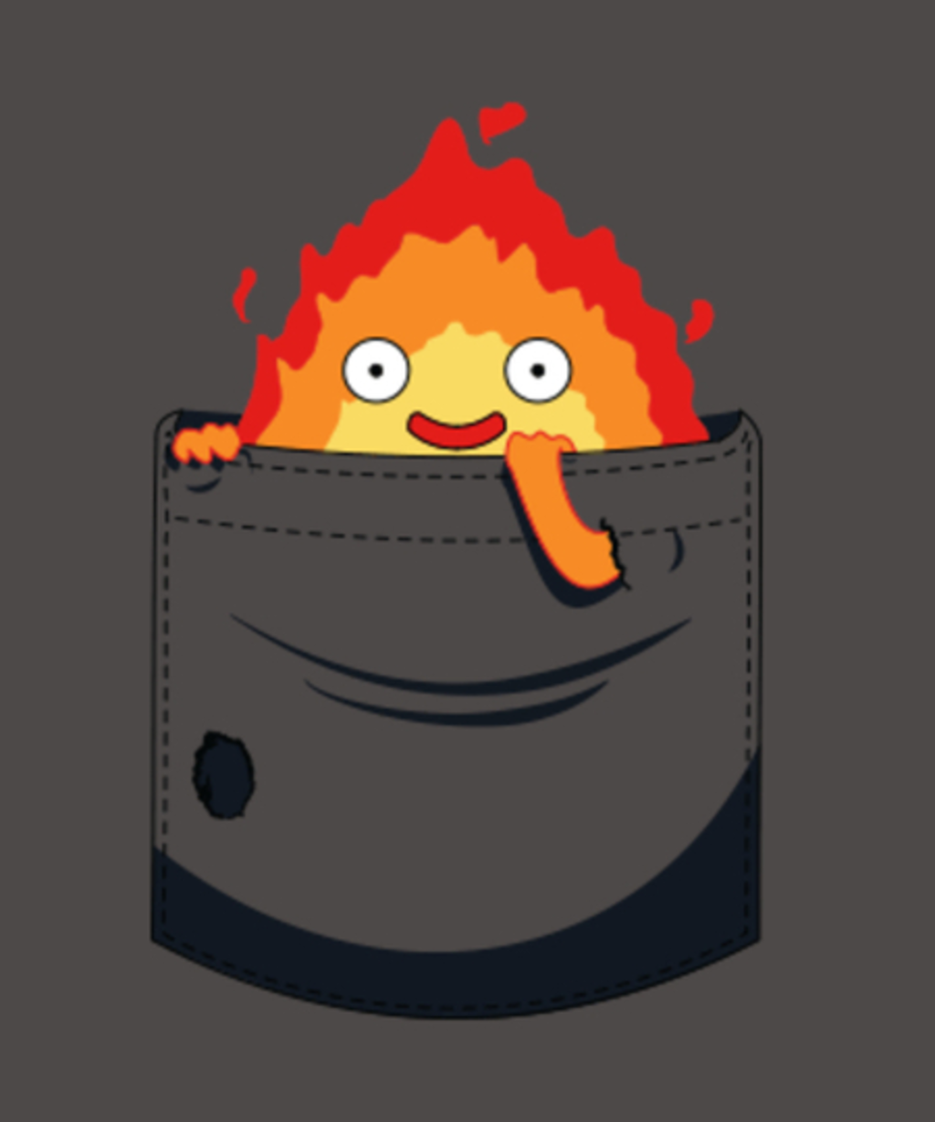 Qwertee: Fire pocket