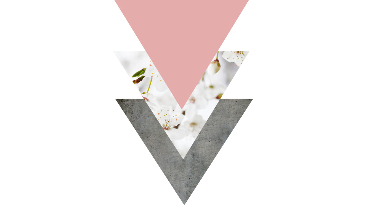 Design by Humans: Blossoms Arrows Collage
