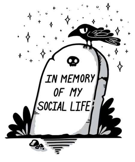 Qwertee: Social life