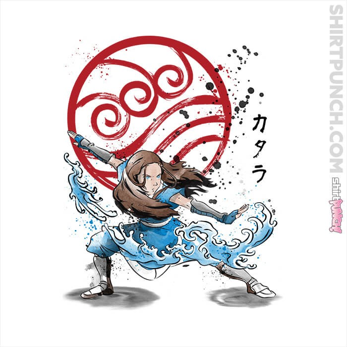 ShirtPunch: The Power Of The Water Tribe