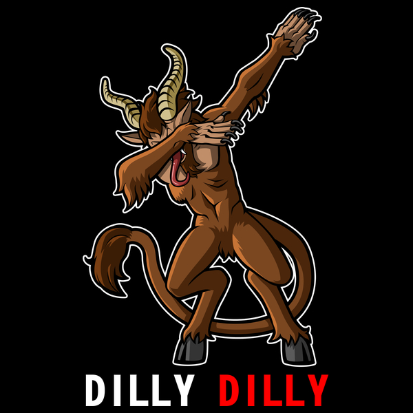 NeatoShop: Dilly Dilly krampus dabbin