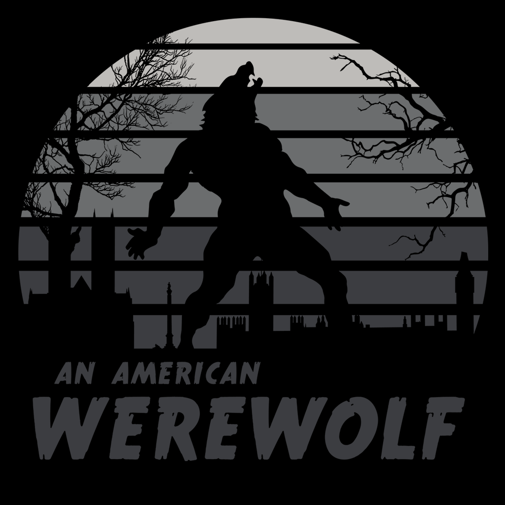 Pop-Up Tee: Werewolf Sun Set
