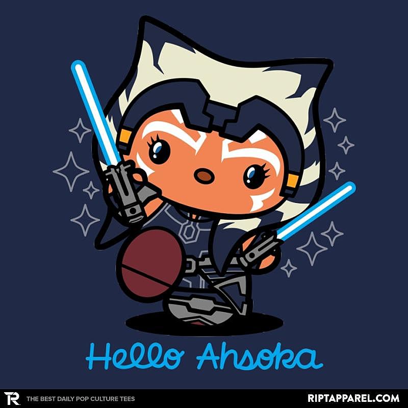 Ript: Hello Ahsoka